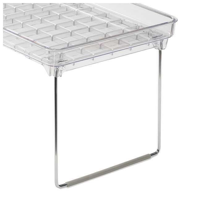 3 x 29081 Madesmart Large Clear Stacking Cabinet Storage Shelf (3 Pack) 3