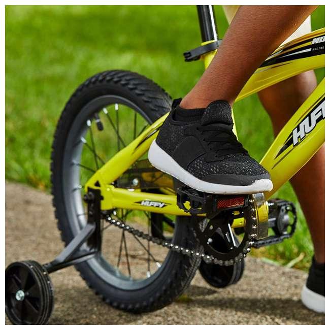 71828 Huffy Moto X 16 Inch Age 4-6 Kids Bike Bicycle with Training Wheels, Yellow 4