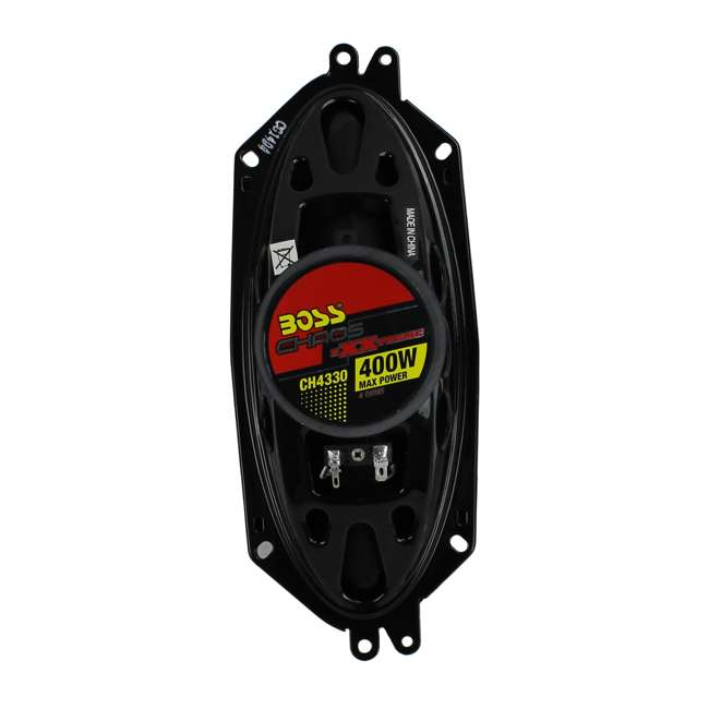 """CH3220 + CH4330 BOSS 3.5"""" 2-Way Set + 4""""x10"""" 3-Way Chaos Exxtreme Car Speakers 10"""