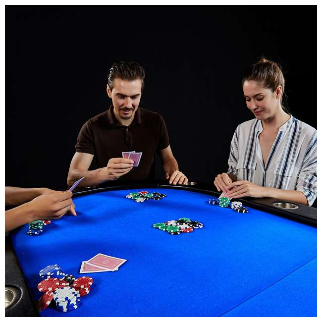 ARC084_128P Lancaster 10 Player Poker Game Table 4