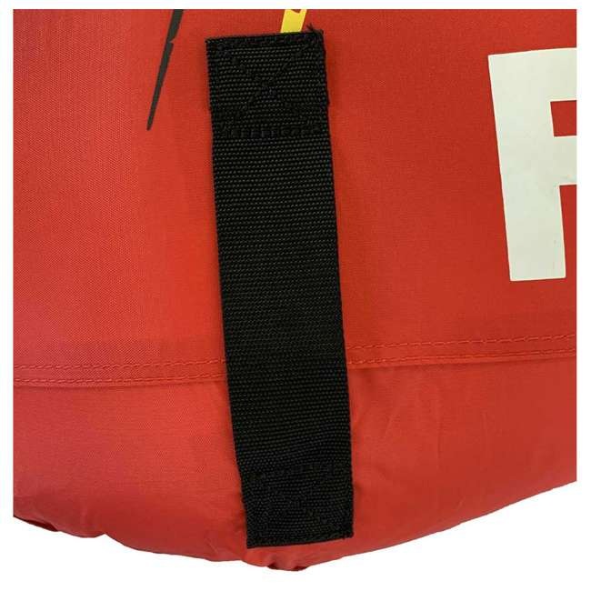 02918-RV-SMU RAVE Sports Ripper 2 Rider Nylon Inflatable Towable Float, Red 2