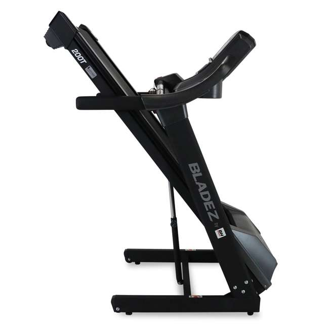 200T BH Fitness 200T Folding Treadmill with Shock Absorption 3