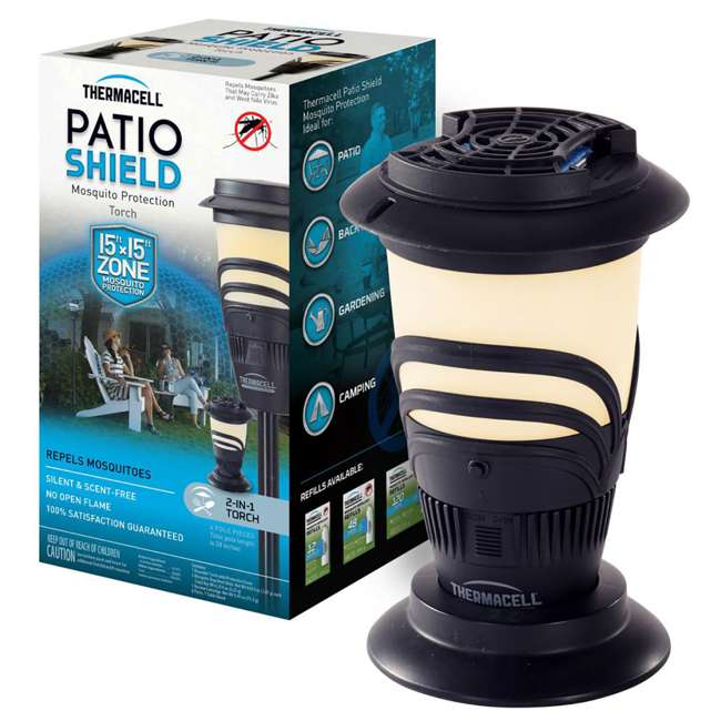 MRKA Thermacell Lexington Outdoor Mosquito Repeller Torch 3