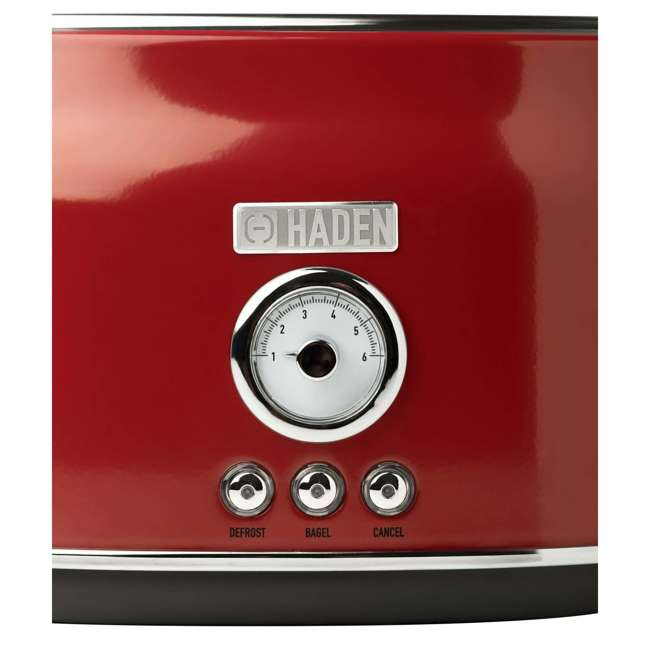 75000 + 75001 Haden Stainless Steel Retro Toaster & 1.7 Liter Stainless Steel Electric Kettle 9