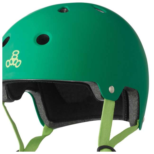 6 x T8-3028 Triple 8 Dual-Certified Skate and Bike Helmet with EPS Liner, L/XL (6 Pack) 3