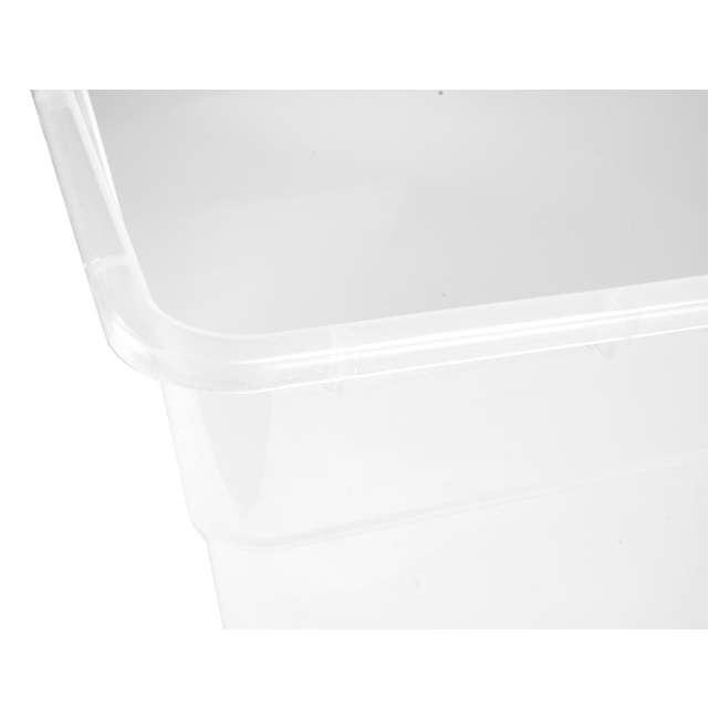 48 x 16598008 Sterilite 16558008 56-Quart Storage Box, 48 Pack 3