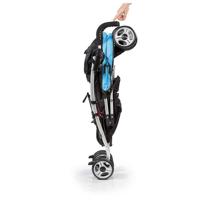 21840A Summer Infant 3Dlite 42 Inch Convenience Stroller, Caribbean Blue 3