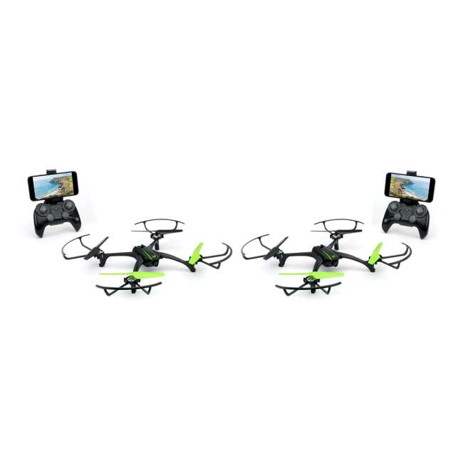 SKY-01848 Sky Viper Scout Live Stream Video Recording Drone (2 Pack)