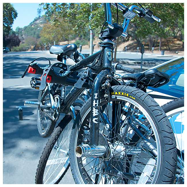 4 x S-103-U-B Allen Sports 3 Bike Foldable Trunk Carrier with Tie Down Straps (Used) (4 Pack) 4