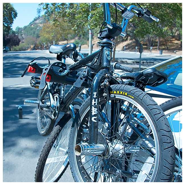 S-103-U-A Allen Sports Premier 3 Bike Steel Trunk Carrier with Tie Down Straps (Open Box) 4