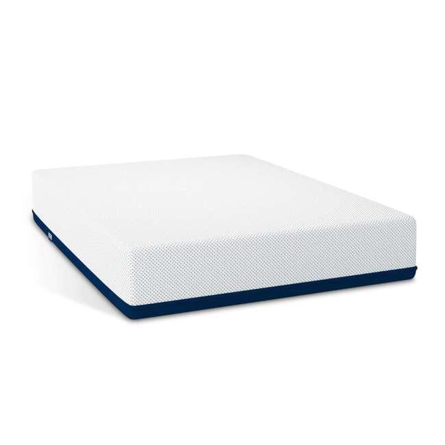 AS5-TXL Amerisleep AS5 Soft Feel Bio Core Plush Foam Active Flex Twin XL Mattress, White 1