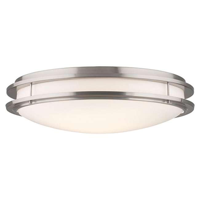PLC-F245836U Philips Forecast Passage Satin Nickel Finish Ceiling Light (2 Pack) 1
