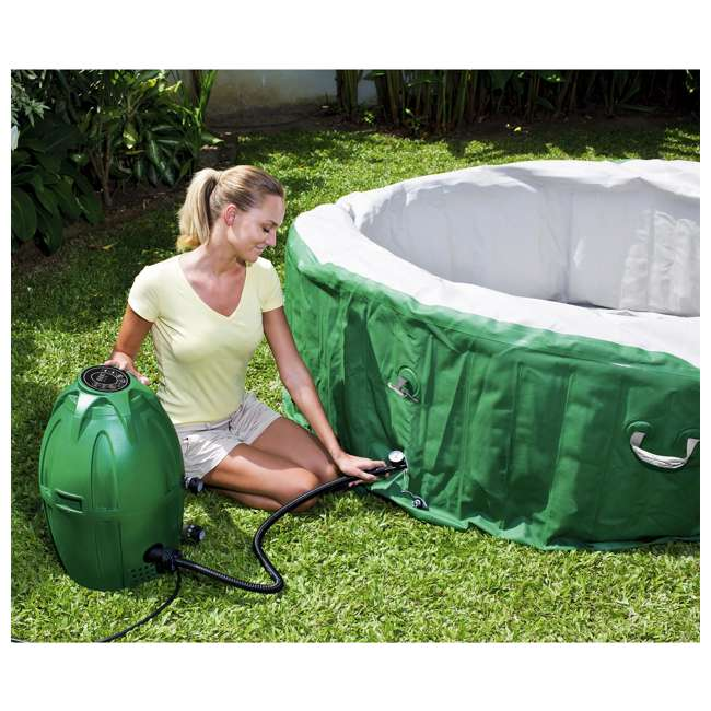 90363E-BW-U-A Coleman SaluSpa Lay-Z-Massage 77x28 Inch 6-Person Hot Tub (Open Box) (2 Pack) 4