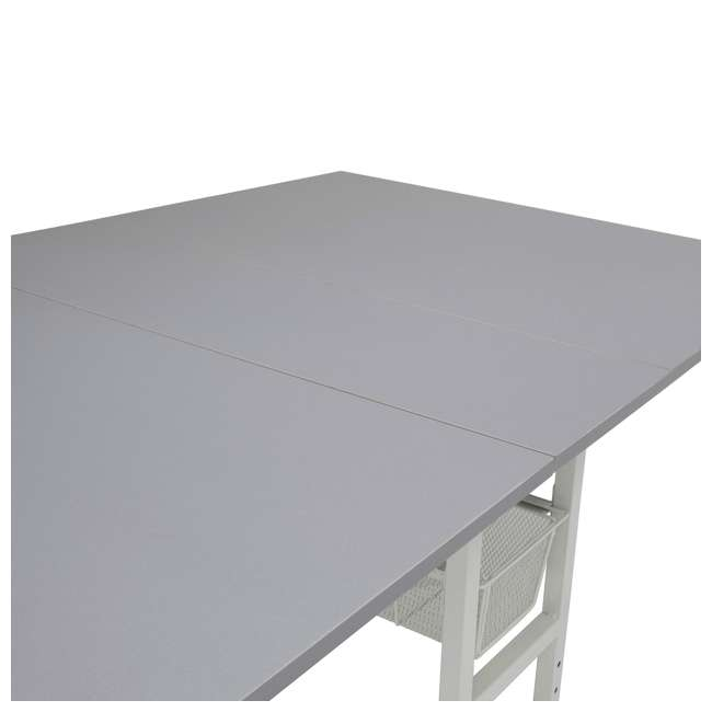 STDN-38011 Sew Ready Folding Hobby and Craft Table with Drawers 2