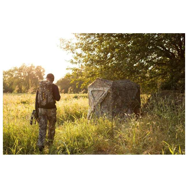 AMEBF3014 Ameristep AMEBF3014 Distorter Kick Out 3 Person Ground Hunting Blind, Real Tree 1