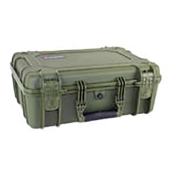 "H075GNF8542AC1 + H801GRF8539AC1 Condition 1 14"" Protective Carrying Case & Storage Case, Green 6"
