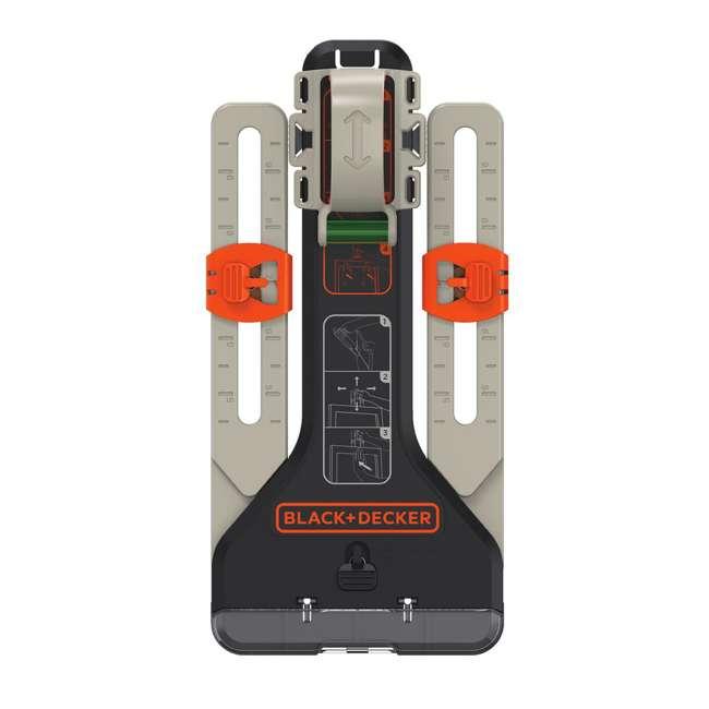 BDCK502C1 + 71-966 + BDMKIT101C Black & Decker Drill Driver Combo Kit & 66 Piece Bit Set & Picture Hanging Kit 3
