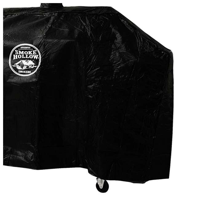 "SH-GC1000 Smoke Hollow Weather Resistant Polyester Heavy Duty 65-70"" Grill Cover (2 Pack) 3"