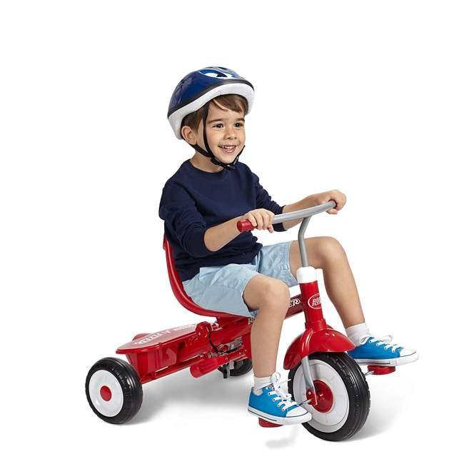 488A Radio Flyer Ultimate 4-in-1 Stroll 'N Trike Ride On, Red 3