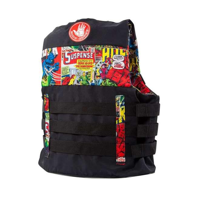 MAR17243LXL Body Glove Marvel Method Life Jacket Vest, Large/X-Large (2 Pack) 1