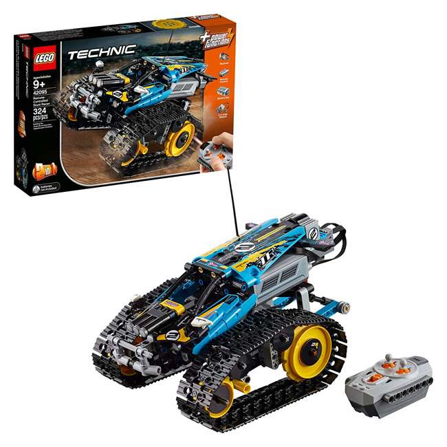 6251547 2-in-1 Remote-Controlled Stunt Racer Power Functions Set