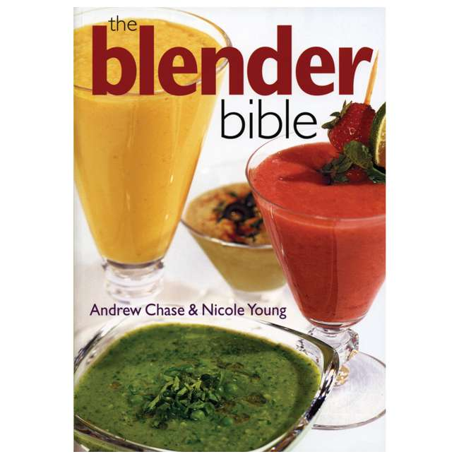 51102 + BLEND-BIBLE Hamilton Beach Single Serve Compact Blender with The Blender Bible Recipe Guide 6