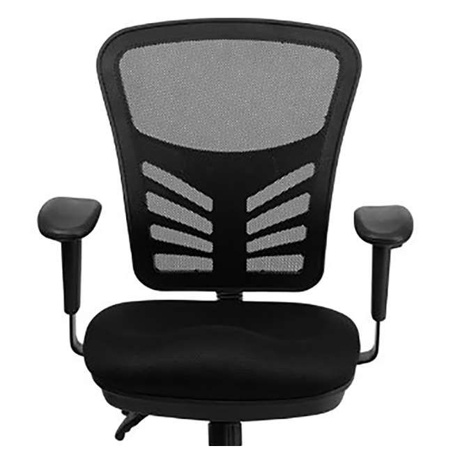 HL-0001-GG-U-A Flash Furniture Mesh Seat Executive Office Swivel Chair, Black (Open Box) 4