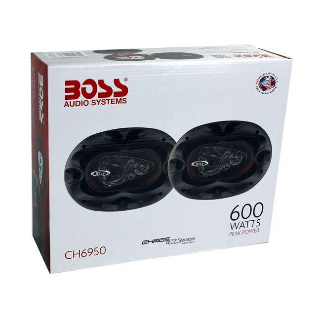 "CH6950 Boss 6x9"" 5-Way 600 Watt Speakers (Pair) | CH6950 6"
