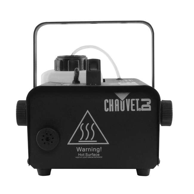 H1200 + 2 x HDF Chauvet DJ Hurricane 1200 1.0L Fog Machine w/ Wired Remote & Fog Juice (2 Pack) 4