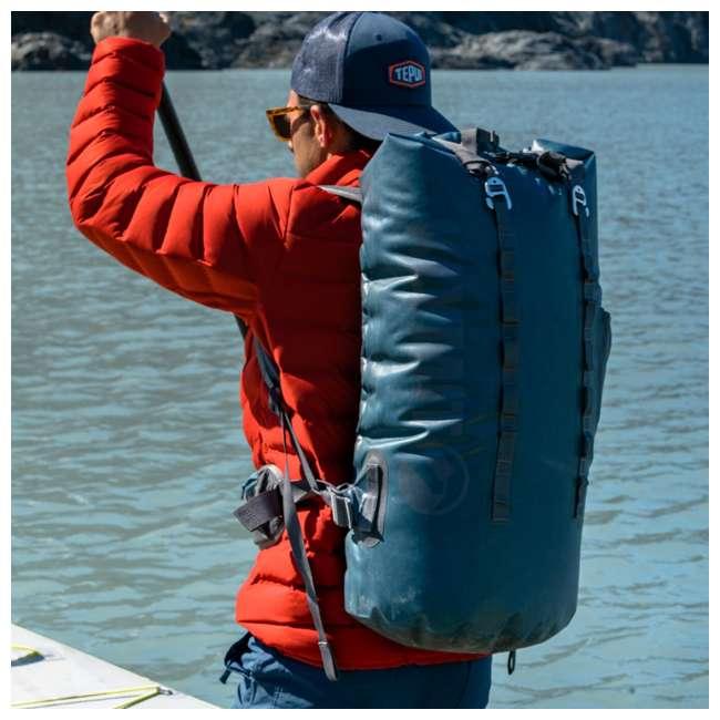 12SPBL01C Klymit 210D Nylon Waterproof Ultra-Lightweight Splash 25 Day Backpack, Blue 2