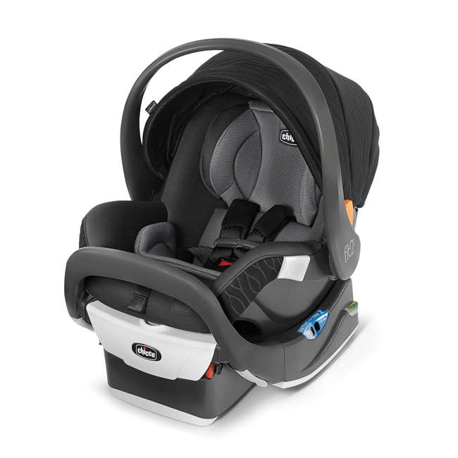 CHI-0507977155 Chicco Fit2 Infant/Toddler Rear Facing Car Seat w/ 2 Stage Base, Black Legato