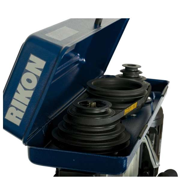 30-120 RIKON 30-120 13 Inch 7.5 Amp Benchtop Drill Press with Cast Iron Table, Blue 4