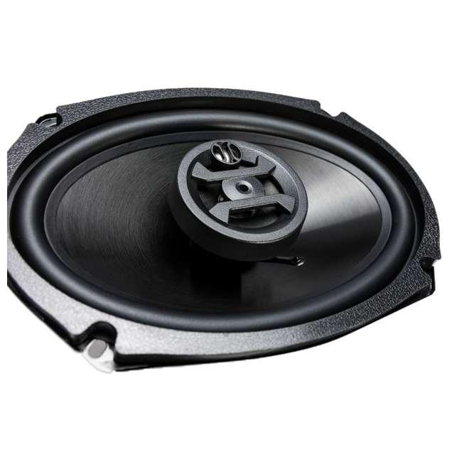 ZS-693-U-B Hifonics Zeus 800 Watt 6 x 9 Inch 3 Way Car Audio Coaxial Speakers Pair (Used) 1