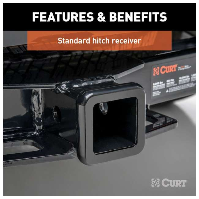 31083 Curt 31083 Front Hitch with 2 Inch Receiver Fits Select Ford Expedition F-150 5