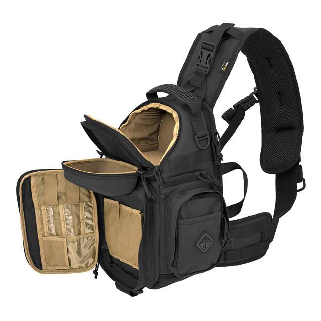 FTO-FLC-BLK-U-A Hazard 4 Progressive Tactical Gear Photography and Drone Sling Pack (Open Box) 2