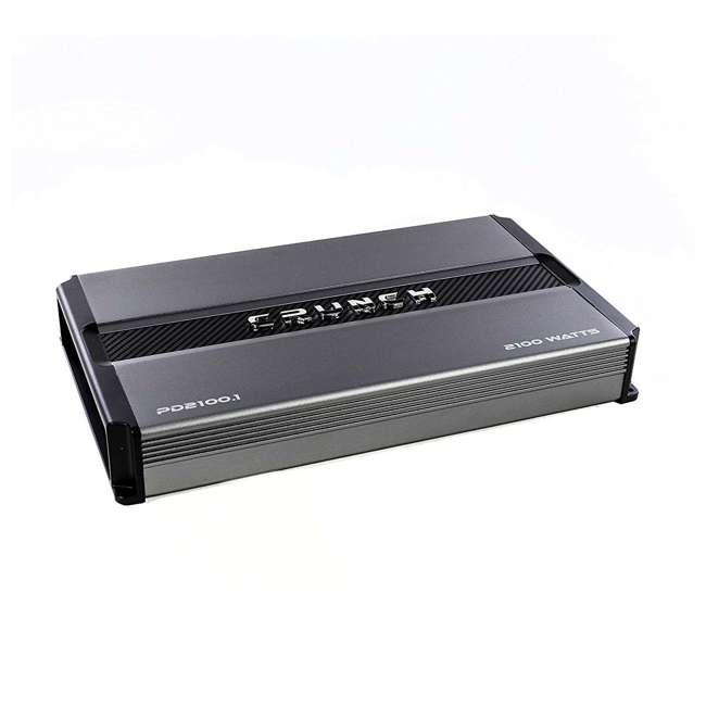 PD2100.1 Crunch Power Drive PD2100.1 2100W Monoblock Class A/B Amplifier (2 Pack) 1