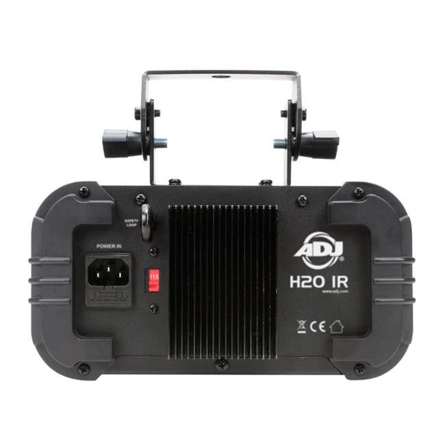 H2O-IR + DJBANK American DJ H2O IR Water Light and Chauvet Sound Active Light 3