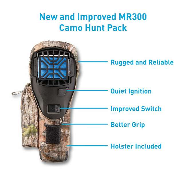 MR300F Thermacell MR300F Cordless Portable Mosquito Insect Bug Repellent with Holster 4