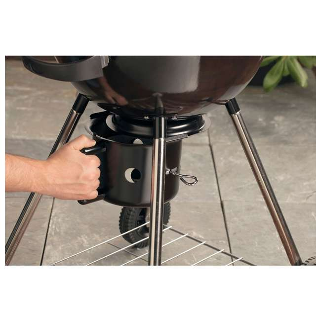 CCG-290 Cuisinart 18 Inch Kettle Charcoal Grill Black 4