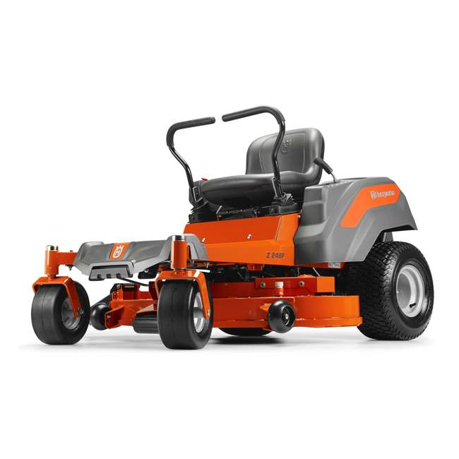 Husqvarna 48 Inch 23hp Zero Turn Riding Lawn Mower Z248f