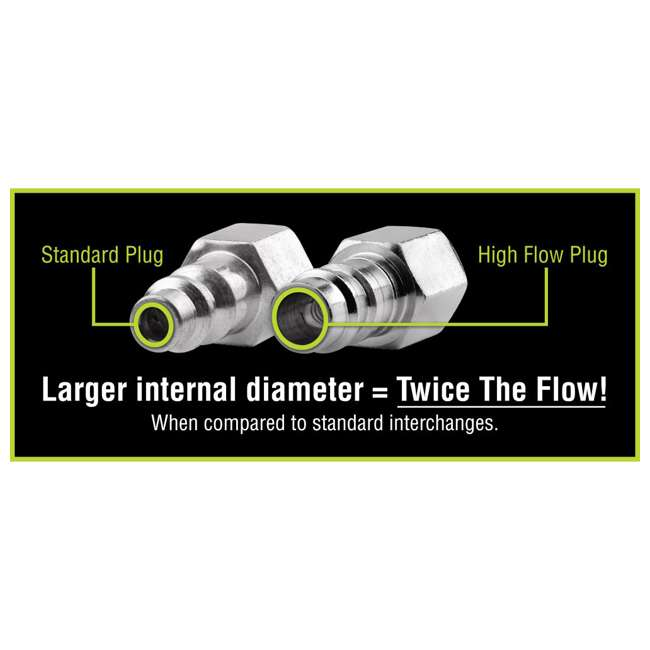 3 x LEG-A53458FZ Flexzilla 14-Piece Pro High Flow Coupler and Plug Kit (3 Pack) 5