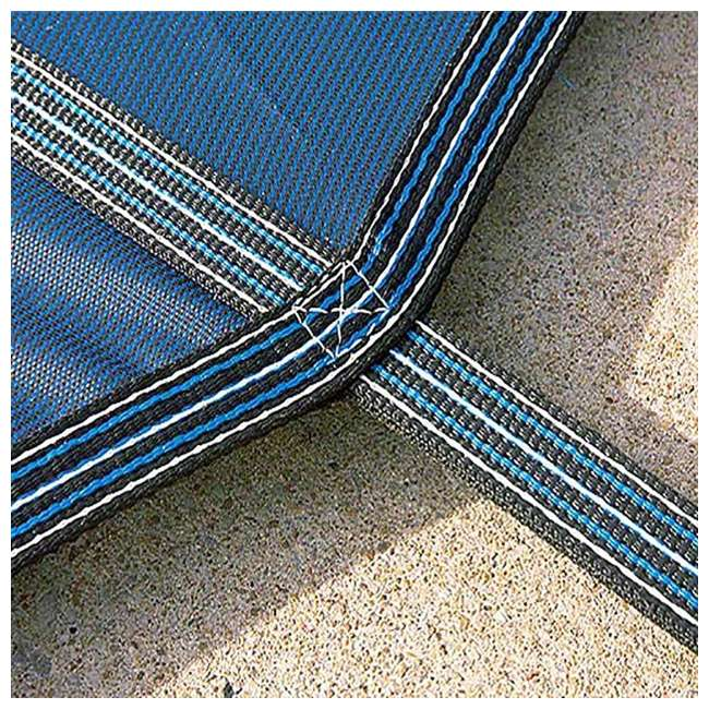 DG204058S Yard Guard 20 x 40 Feet With 8 Feet Center End Steps Pool Cover, Green 3