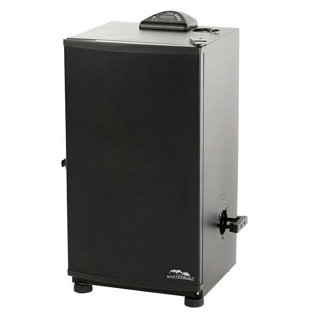"3 x MB20071117-U-A Masterbuilt Outdoor 30"" Digital Electric Smoker Grill, Black (Open Box) (3 Pack)"