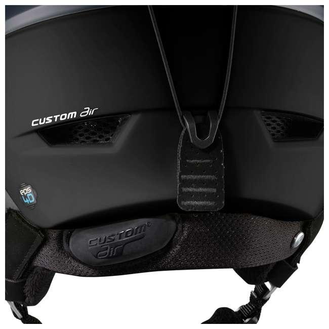 L40535400-M Salomon Ranger Square C Air MIPS Black Helmet, Medium 2