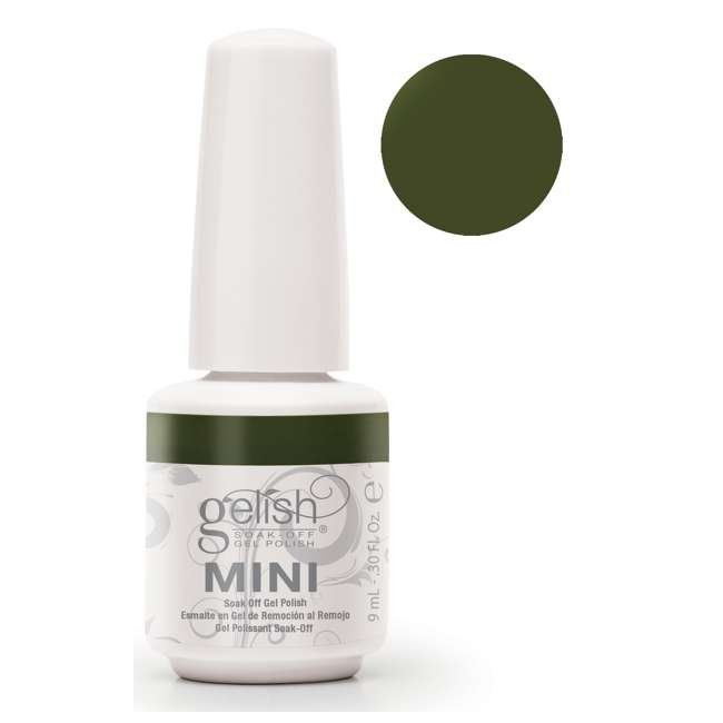 12 x 04291-DearJohn Gelish Mini Dear Johnny Green UV Led Soak Off Gel Nail Polish Bottle 9 mL (12 Pack) 1