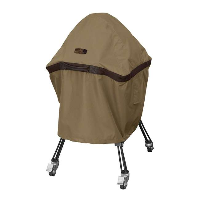 55-218-052401-EC Classic Accessories Hickory Heavy Duty Kamado Ceramic BBQ Grill Cover, X Large