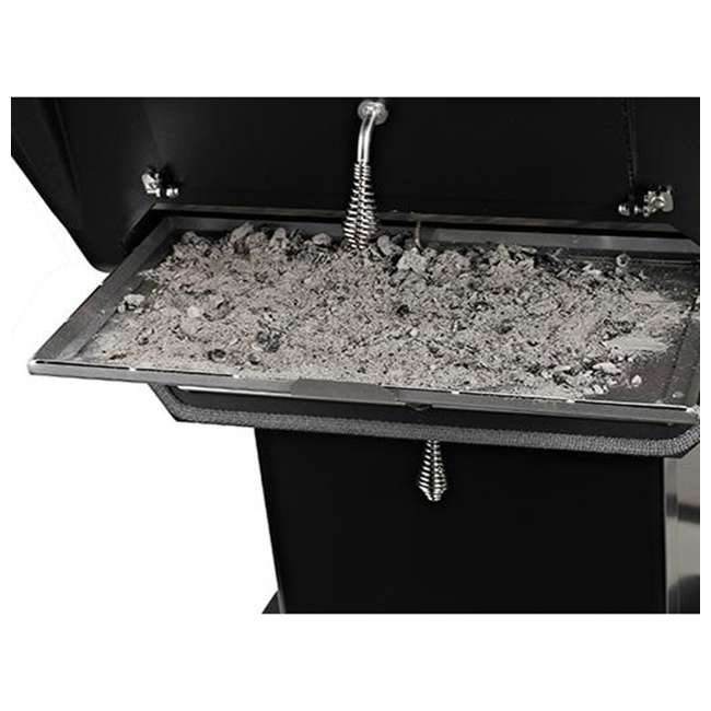 C3PK1 Broilmaster C3PK1 Independence Charcoal Grill Package with Base and Shelf, Black 4