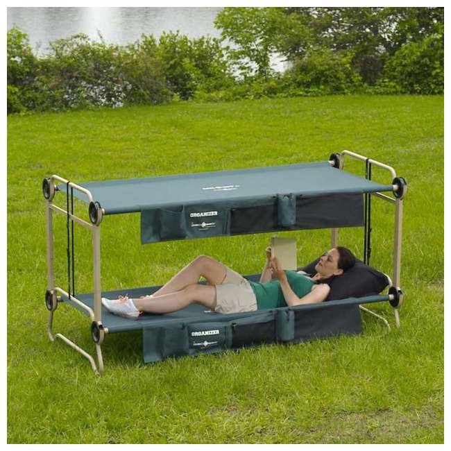 30002BO-U-A Disc-O-Bed X-Large Cam-O-Bunk Cot 5