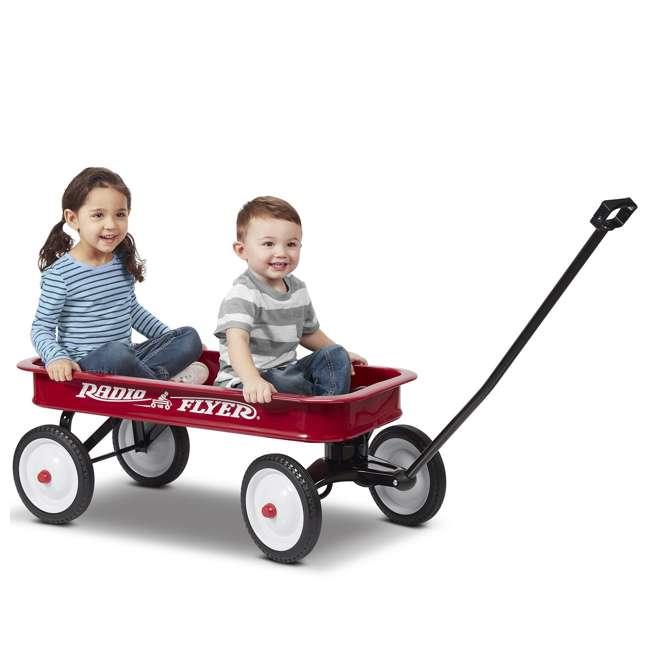 18-100 Radio Flyer Classic Kids Toddler Original Little Red Wagon, 100th Anniversary 1