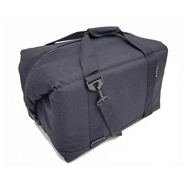PB 480 Polar Bear Coolers 48 Pack Soft Cooler Black 2